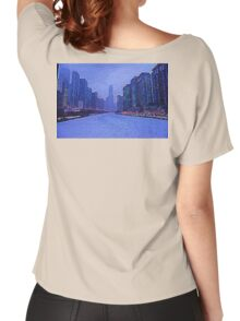 Chicago Oil Painting #2 Women's Relaxed Fit T-Shirt
