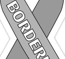 Borderline Ribbon Sticker