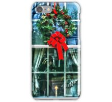 Christmas Window iPhone Case/Skin