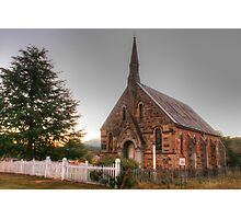 Hill End church Photographic Print