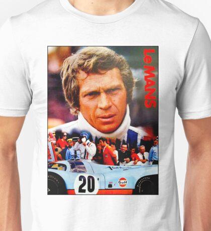 LE MANS; Vintage Grand Prix Auto Print Unisex T-Shirt