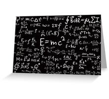 Smarty scribble Greeting Card
