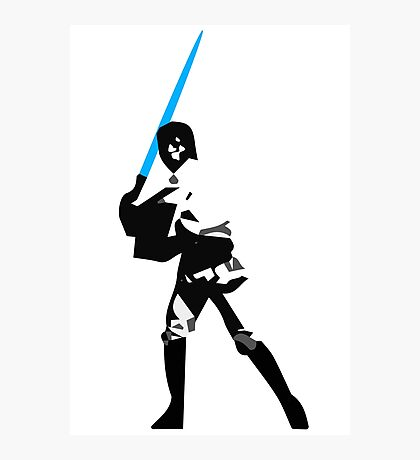 Star Wars - Luke Stands Against Evil Photographic Print