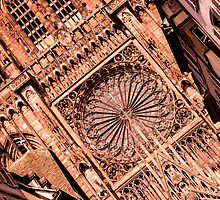 Cathedral Notre Dame of Strasbourg - Travel Photography by JuliaRokicka