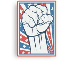 Freedom Fist Canvas Print
