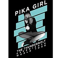 Pika Girl  Photographic Print