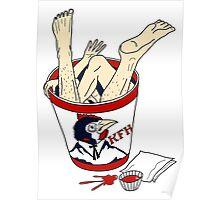 Kentucky Fried Human bucket Poster
