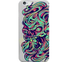 Abstract Skull iPhone Case/Skin