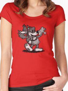 Vintage Banjo Women's Fitted Scoop T-Shirt