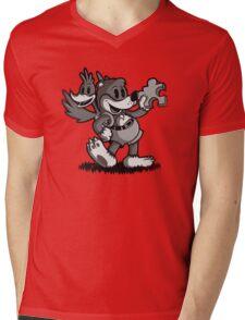 Vintage Banjo Mens V-Neck T-Shirt