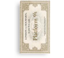 ticket to hogwarts Metal Print
