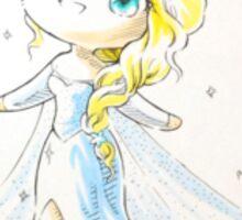 Chibi Snow Queen Elsa Sticker