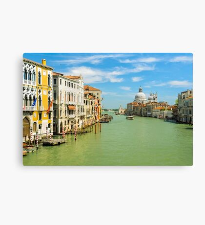 Grand Canal in Venice, Italy Canvas Print