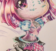 Sewn chibi Orianna Sticker