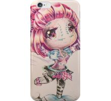 Sewn chibi Orianna iPhone Case/Skin
