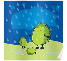happy when it rains Poster