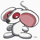 White mouse by Kitsune Arts