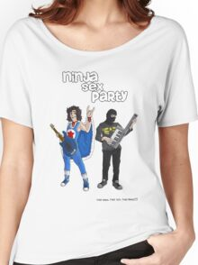Ninja sex party Women's Relaxed Fit T-Shirt