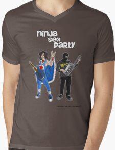 Ninja sex party Mens V-Neck T-Shirt