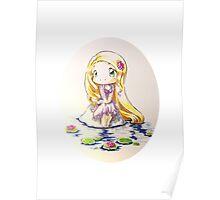 Tangled: Chibi Rapunzel Poster