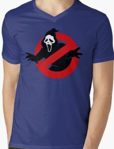 Screambusters Mens V-Neck T-Shirt