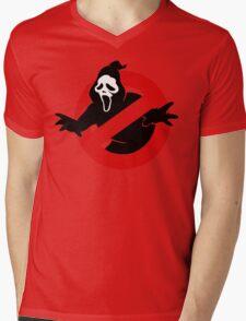 Screambusters Mens V-Neck T-Shirt
