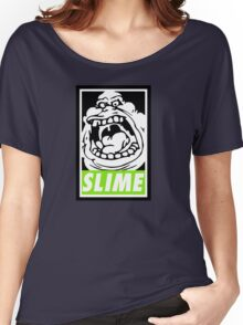 Obey Slimer Women's Relaxed Fit T-Shirt