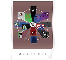 WWE - Attitude Era Poster