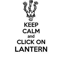 Thresh - League of Legends - Keep Calm and Click On Lantern - Black by Stokha