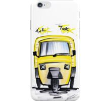 Tuk Tuk 01 iPhone Case/Skin