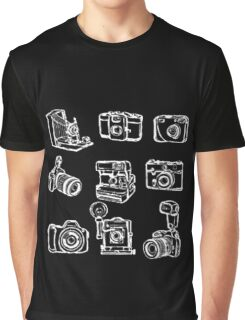 Photographer Camera Graphic T-Shirt