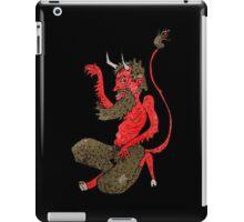 dancing devil iPad Case/Skin