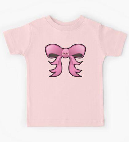 Cute Pink Kawaii Bow Kids Tee