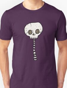spooky skull and spine T-Shirt