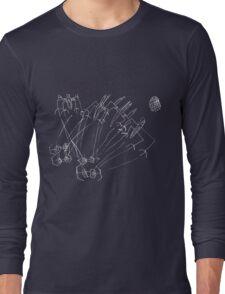 Epic Star Wars Space Battle Death Star Long Sleeve T-Shirt