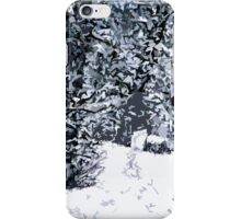 SNOW COVERED FOREST 2 iPhone Case/Skin