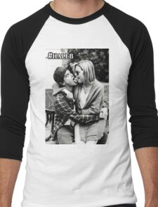 haleb pretty little liars ashley benson hannah marin caleb Men's Baseball ¾ T-Shirt
