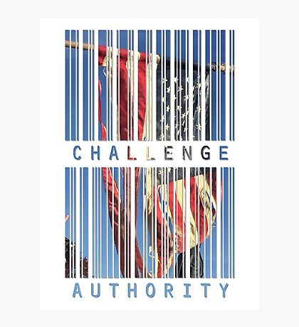 Challenge Authority Photographic Print