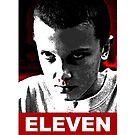 Eleven Stranger Things by GKdesign