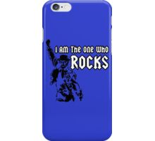 Breaking Bad 'I am the one who knocks' parody iPhone Case/Skin