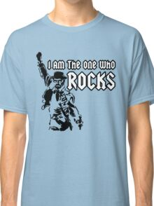 Breaking Bad 'I am the one who knocks' parody Classic T-Shirt