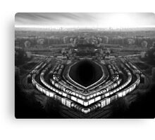 the industrial accident Canvas Print