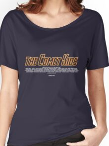 The Comet Kids - Logo Women's Relaxed Fit T-Shirt