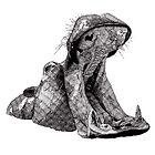 Hippo by RikReimert