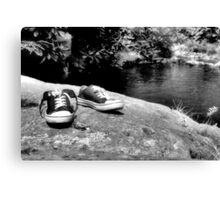 Barefoot is always better Canvas Print