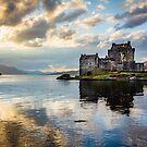 Eilean Donan Castle, Sunset by Philip Kearney