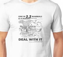 There are a lot of rodents Unisex T-Shirt