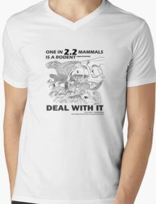 There are a lot of rodents Mens V-Neck T-Shirt