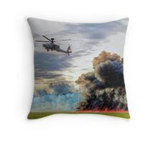 Apache Role Demo HDR - Dunsfold Wings and Wheels 2014  Throw Pillow