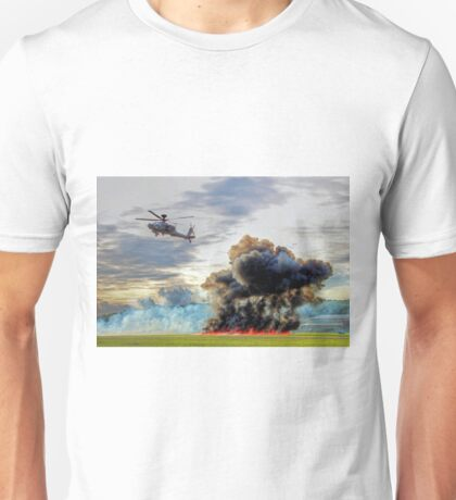 Apache Role Demo HDR - Dunsfold Wings and Wheels 2014  Unisex T-Shirt